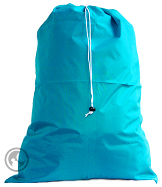 Extra Large Nylon Laundry Bag, Teal